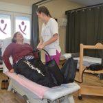 Imagen de un tratamiento en el Centro Fisiomer Matapozuelos