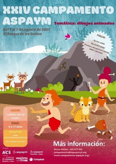 Cartel del XXIV Campamento ASPAYM