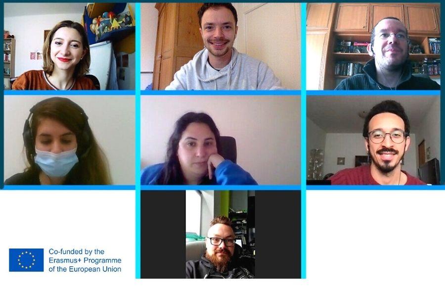 Los socios del consorcio participantes en el proyecto europeo Re-Construct: Life and Mind Together