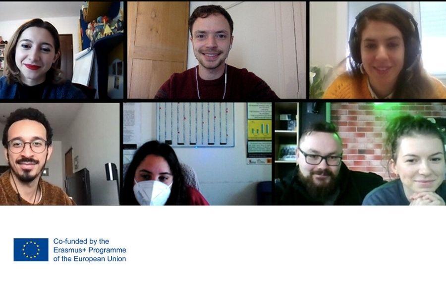 Participantes del proyecto europeo The Book of Life en la primera reunión online