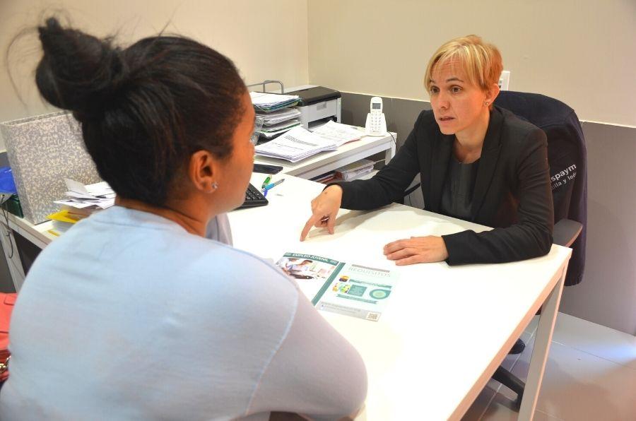 Técnico de inserción laboral de ASPAYM CYL en Ávila