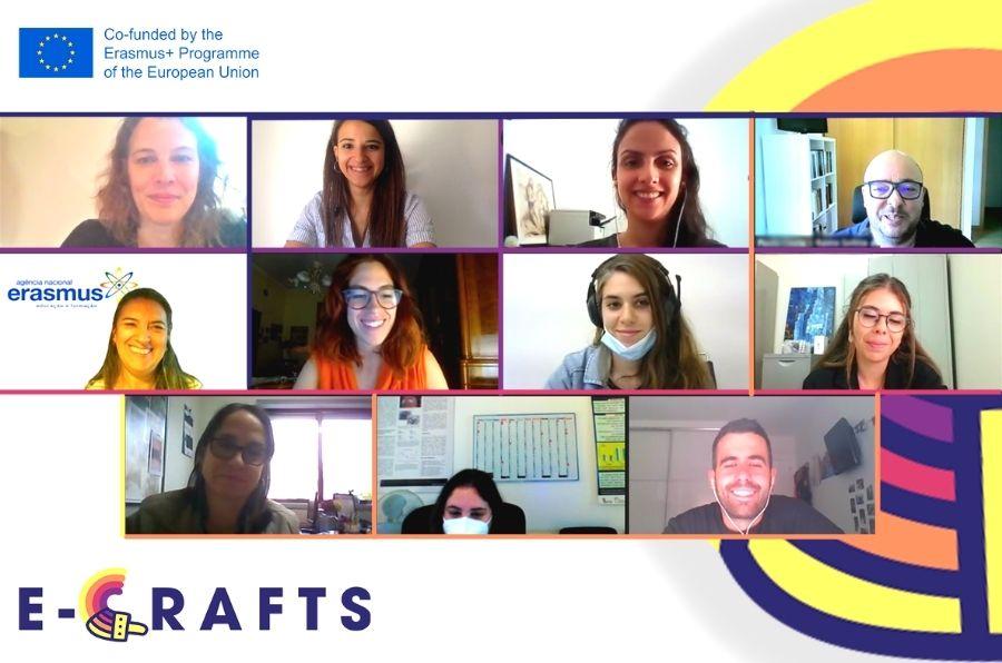 Entidades participantes en la primera reunión del proyecto E-Crafts