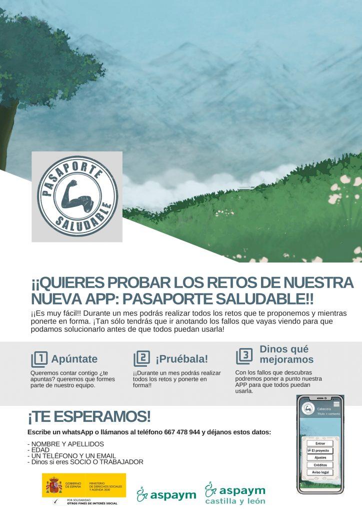 Cartel Prueba Pasaporte Saludable