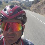 Guillermo Prieto recorrerá los 1.274 kilómetros de 'la raya' de España y Portugal en una prueba 'non stop' con fines solidarios
