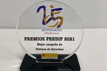 Fotografía del premio