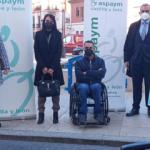 Foto de familia en la presentación de la campaña en Burgos
