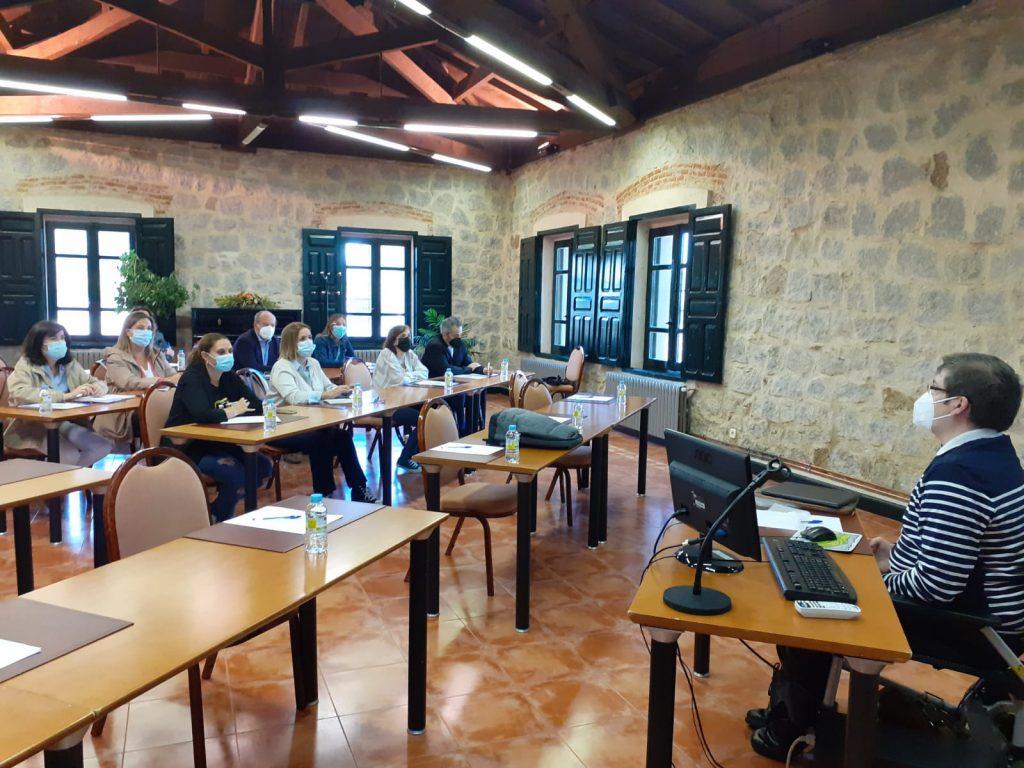 Fotografia de las jornadas de formación de Administración Electrónica en Ávila