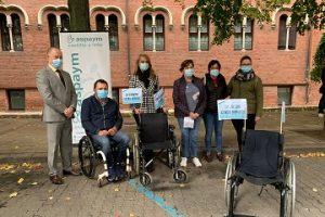 Foto de familia en la presentación de la campaña en Palencia